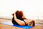 Take yoga outside for fresh air