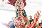 The extravagance that is samba dance