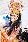 The passion of samba pulsates through the carnival