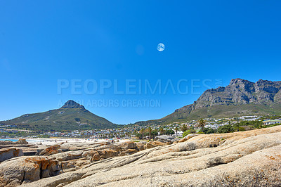 Buy stock photo Twelve Apostles, Table Mountain National Park, Cape Town, South Africa