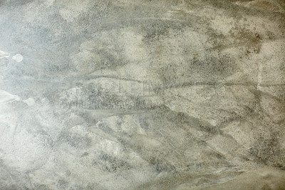 Buy stock photo High angle shot of a weathered concrete floor