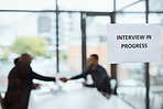 Time to make a lasting impression in this interview