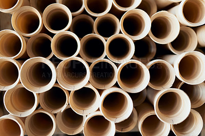 Buy stock photo Cropped shot of building materials in an industrial warehouse