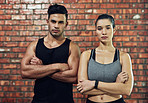 The king and queen of fitness