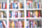 Blurrred - books, bookshelves and library