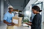 Efficient and reliable courier services