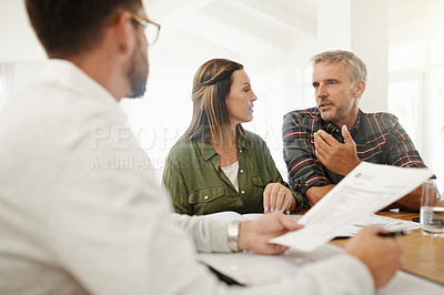 Buy stock photo Shot of mature people at home