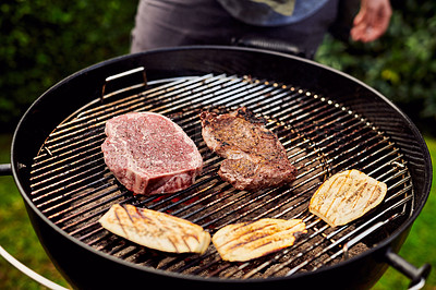 Buy stock photo Shot of a bbq