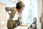 Prolonged sitting puts a lot of strain on the lower back