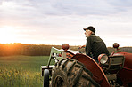 What's a farmer without his tractor?