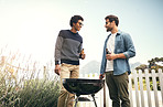 The best conversations are had around the barbecue