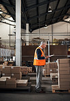 Getting hands on in warehouse management