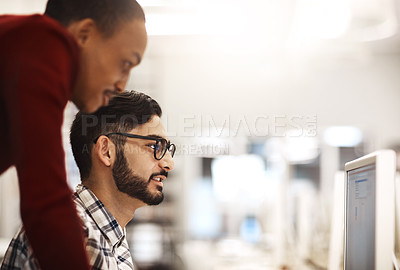 Buy stock photo Shot of students at university