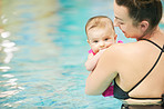 Swimming is an amazing experience you can share with your baby