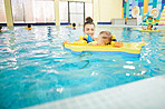 Swimming classes is a wonderful opportunity to bond
