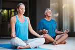 Meditating together helps bring peace into our relationship