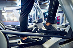 Using the elliptical machine as a stepping stone