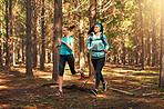 Our favorite place to exercise is in nature