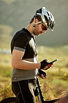 Navigating the biking trail with mobile tech