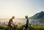 We share a passion for cycling