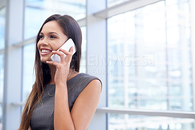 Buy stock photo Shot of attractive young businesswomen in the office