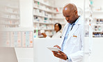 Managing his pharmacy with the help of technology