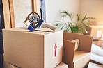 Tape your boxes securely to prevent damage while moving