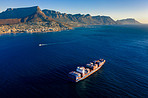 Container ships are today's most important means of transportation