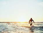 Be right back - I gotta go catch some waves