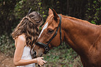 Happiest are those who love horses
