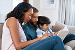Reading is our favorite thing to do as a family