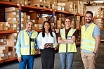 The team behind such a successful warehouse