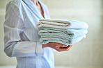 Start the day fresh with fresh towels