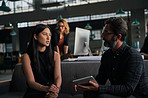 Coming up with new ways to increase productivity