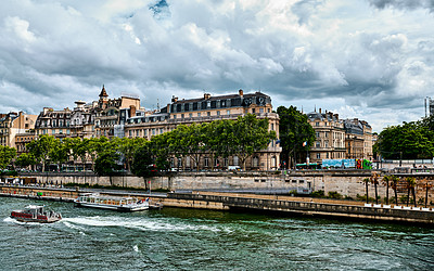 Buy stock photo Shot of the sights in Paris