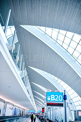 Buy stock photo Shot of an airport