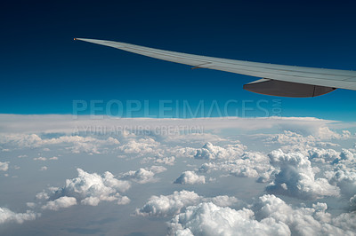 Buy stock photo A photo of an airliner