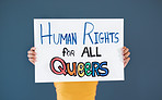 Because queers are human too