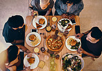 Food and friends is what makes everything better