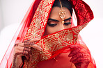 She wears her shyness perfectly as her veil