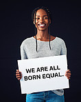 The world needs more equality