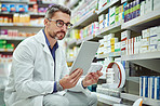 This pharmacy stays well-organized with the help of digital tools