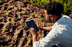 Using technology to check the soil