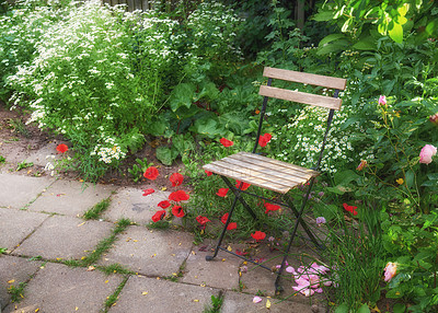 Buy stock photo The private spot of the Gardener - the beauty of garderning