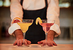 Keep calm and try our cocktails