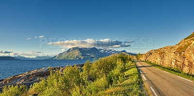Buy stock photo Summertime in Norway - Nordland