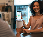 Quicker payment keeps the coffee warmer for longer