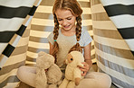 Solo playtime is important to help a child explore their imagination