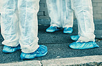 Take a walk in the shoes of a healthcare worker