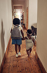Off to school we go